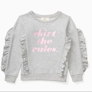 NWT Kate Spade   Skirt the Rules Toddler Sweater 6